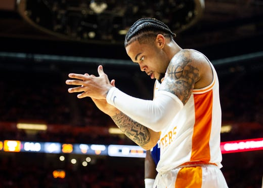 Lamonte Turner is back with Tennessee basketball team after surgery