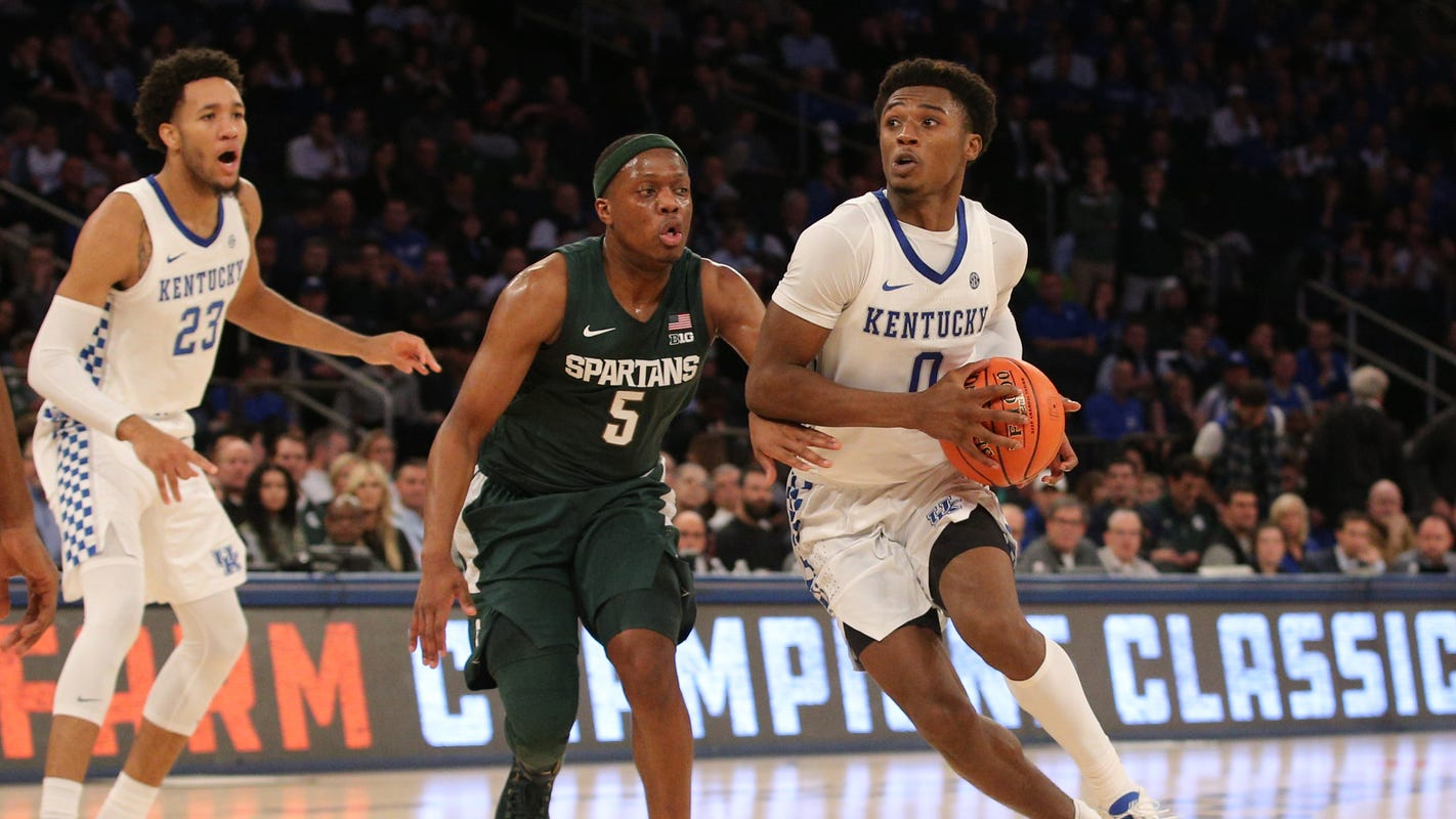 Michigan State basketball wasn't worthy of No. 1 ranking. Not yet, anyway - Detroit Free Press