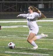 Madison junior Ashleigh Bechtel poked in the game-winning goal in overtime to beat Chagrin Falls 1-0 and send the Lady Rams to the state final at 1 p.m. on Saturday at MAPFRE Stadium in Columbus.
