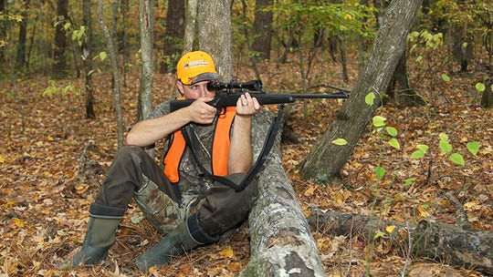 A hunter is shown deer Hunting south of Fordyce. Some deer hunters are destined to walk away from the woods empty-handed, especially on public land.