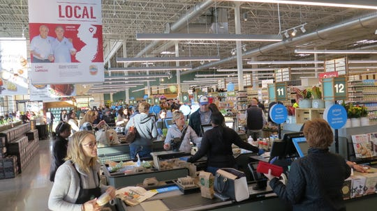 Whole Foods grand-opening in Parsippany: ready to go selections. Nov. 6, 2019.