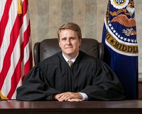 U.S. District Judge Andrew Brasher