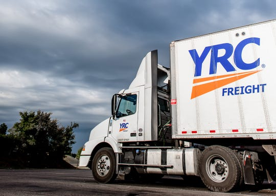 Alphonso Lewis Sr. of Montgomery is a professional truck driver for YRC Freight.
