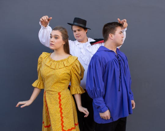 """Center for the Arts presents """"The Fantasticks"""" on stage."""