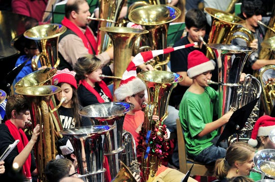 This year's Tuba Christmas at First Baptist Church is Dec. 10.