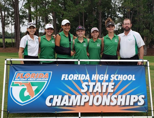 The Fort Myers girls golf team finished fifth at the Class 2A state tournament at Howey-in-the-Hills.