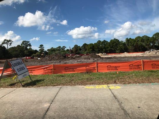 EnviroStruct LLC is beginning construction of a Ferrari dealership on U.S. 41 near Immokalee Road.