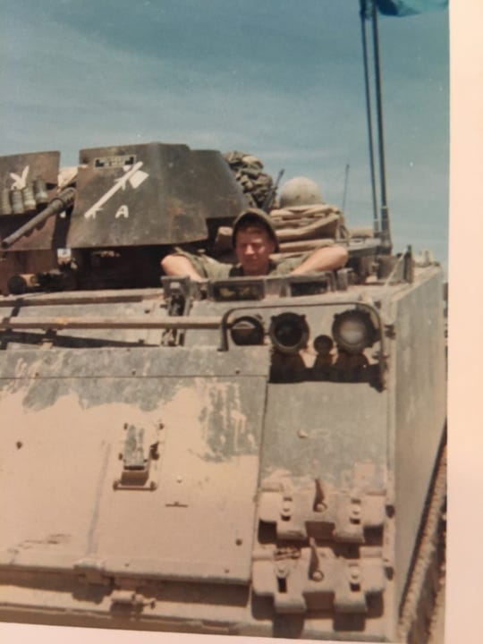 Gary Bonvillian pictured while serving in the U.S. Army in South Vietnam.