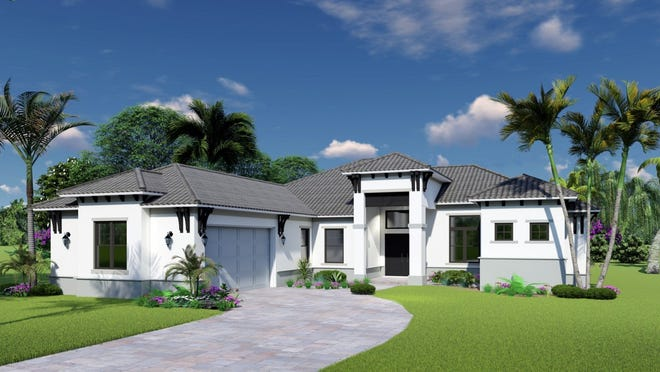 The Montebello has four bedrooms, three baths, 2,187 square feet of living space and 3,005 total square feet.