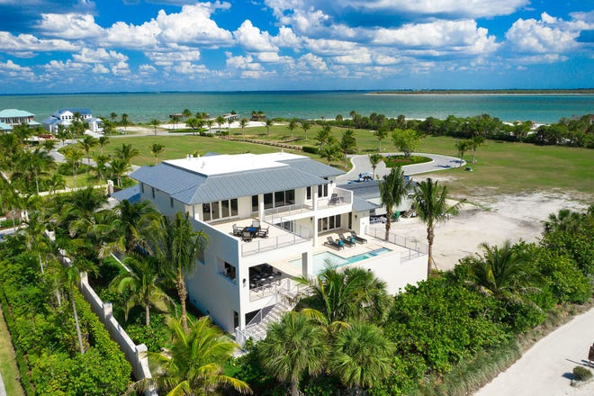 Seagate Development Group's furnished Captiva model is one of two completed model residences open for viewing and purchase at Hill Tide Estates on Boca Grande.