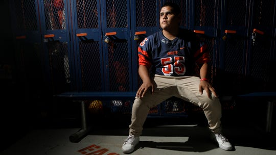 Kelvin Medina, who was diagnosed with leukemia, at the age of eight, is now the starting center for the Eastside High School Football team, in Paterson. Medina is also one of six student athletes who are finalists for the Heart of a Giant award.  The award is sponsored by the NFL Giants as well as the Hospital for Special Surgery.  Thursday, October 24, 2019
