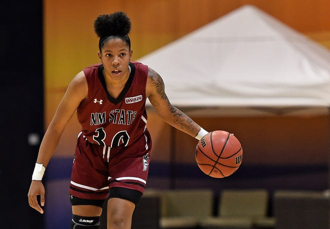 Gia Pack and the New Mexico State women's basketball team opens the season on Thursday at home against UC Riverside.