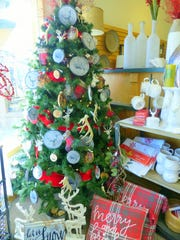 Plenty of Christmas items are found throughout the store.