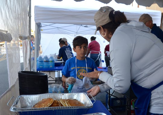 Volunteers of all ages worked to make the event a success