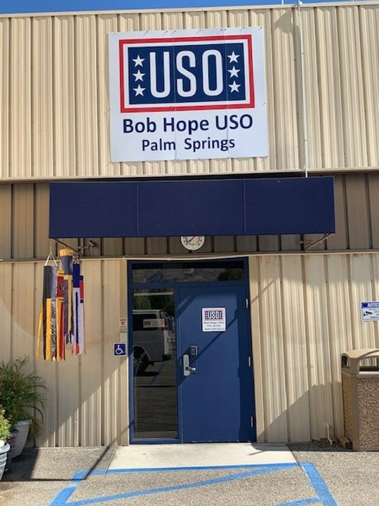 The doors of the Palm Springs Bob Hope USO opened in 2012 and have remained open ever since.
