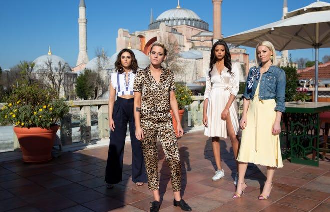 """Naomi Scott, Kristen Stewart, Ella Balinska and Elizabeth Banks star in """"Charlie's Angels."""""""