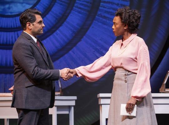 """Nardeep Khurmi and Inger Tudor in Arizona Theatre Company's """"Silent Sky."""""""