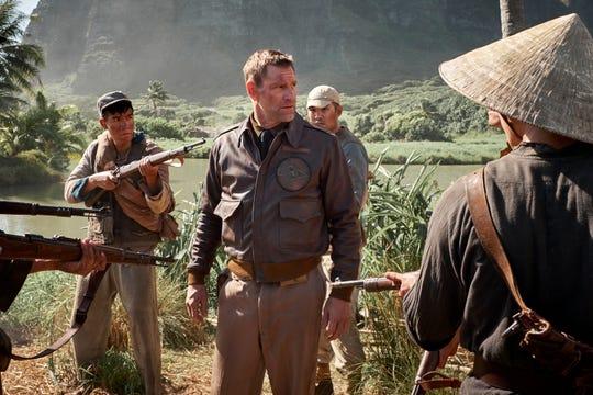 "Aaron Eckhart stars in ""Midway."""