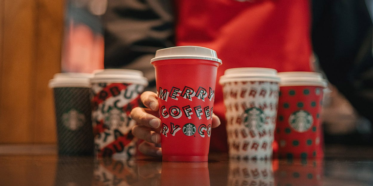 Here S When Starbucks Holiday Red Cups And Drinks Are Coming Back