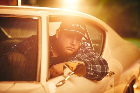 Luke Combs photo shoot near Nashville, Tennessee on May 1, 2019.