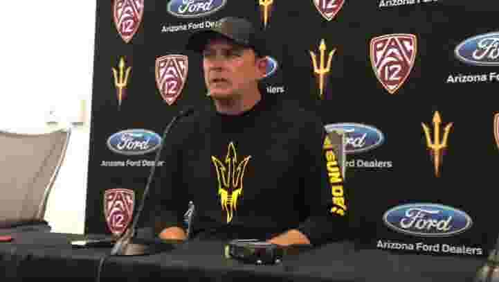 ASU football brainstorms how to start faster including live pre-game scrimmage
