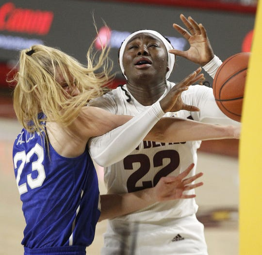 Offensive rebounding keeping ASU women afloat while offense jells