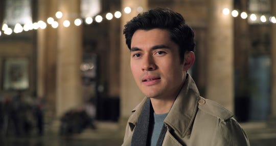 "Henry Golding as Tom in ""Last Christmas,"" directed by Paul Feig."