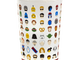 2016's collectible cup served up avators of some fan-favorite film franchise characters, such as Yoda, Terminator, Snoopy, and Alvin and the Chipmunks. Harkins Theatres first introduced its loyalty cup in November 1988.
