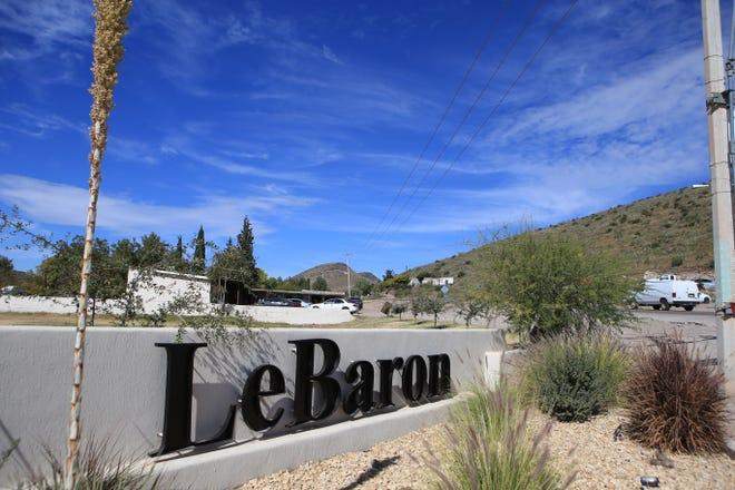 Vista general de la comunidad de LeBaron, en el municipio de Galeana, en el estado de Chihuahua (México). U