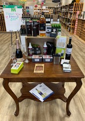 Marta's Vineyard offers a variety of wines, spirits and gifts.