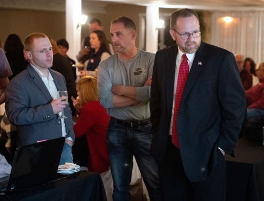 Republican candidate for York County Judge Matt Menges is eager to see results, November 5, 2019.