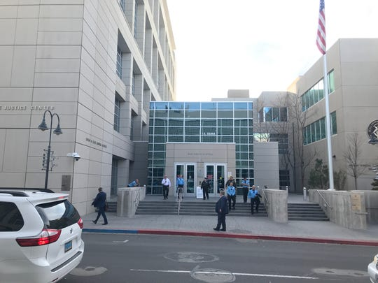 The Reno Justice Court on Nov. 6, 2019.