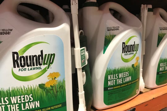 A Redding man has sued the manufacturer of Roundup, claiming it caused him to get non-Hodgkins lymphoma.