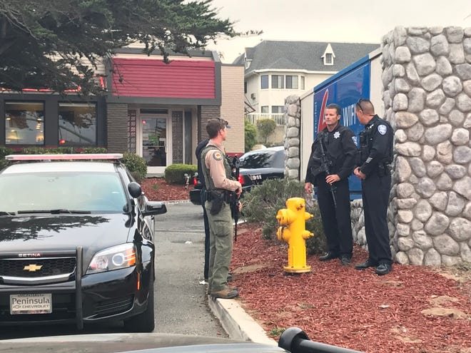 Law enforcement responded to a call that Monterey County Jail escapee and murder suspect Jonathan Salazar was spotted at the Motel 6 in Marina, Calif, on Wednesday, Nov. 05, 0219.