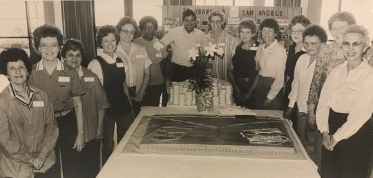 During Levi Strauss' 20th anniversary celebration in 1985, the  company was proud to boast of many employees who had been with them since the beginning of operations in San Angelo.