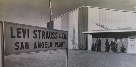 Levi Strauss originally did business out of the old Glas-Air building at 808 W. 29th St., just west of what was then Randolph Street in San Angelo.