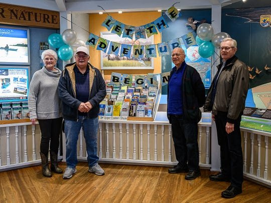 Linda and Don Burnett of Independence, Missouri, along with Ted Stewart and Wayne Smith, won an eight-day tour of the Eastern Shore of Virginia.