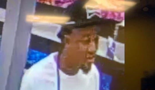 Pictured is a suspect wanted in connection to the theft of steaks from Walmart on Mansfield Road on Nov. 1, 2019.