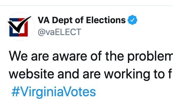 Virginia Board of Elections