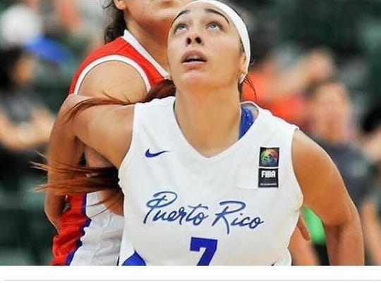 FAMU women's assistant coach Angelica Bermudez helped Puerto Rico win a gold medal at the 2011 Pan America Games in Guadalajara, Mexico.