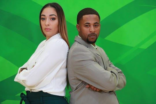 Angelica Bermudez joins head coach Kevin Lynum on the beach as an assistant with FAMU women's basketball. They represent the new changes within the program.