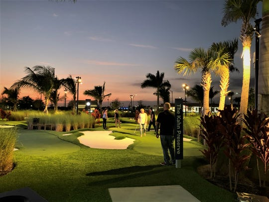 PopStroke is a golf entertainment complex with self-described extreme miniature golf.