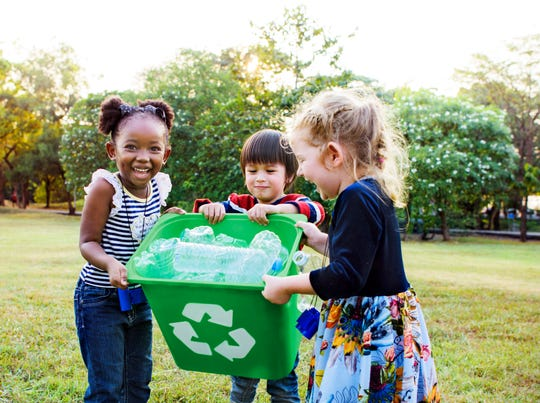 Learn the best ways to get your family into the habit of recycling.