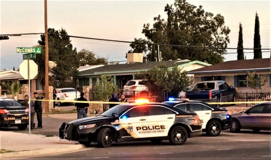 The homicide occurred in the 5800 block of Swallow Lane off McCombs Street on Tuesday, Nov. 5, 2019, police said.