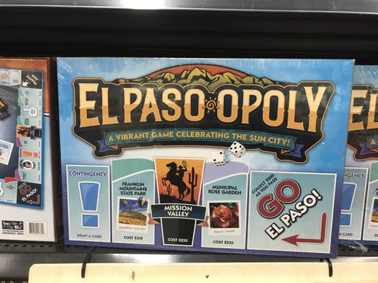 Celebrate the Sun City this Christmas with a game of El Paso-opoly, available at Walmart stores.