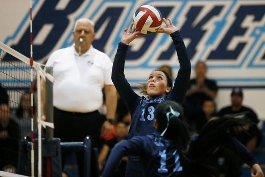 Chapin's Kamrynn Caruth during the game against Horizon in Class 5A playoffs Tuesday, Nov. 5, at Chapin High School in El Paso.