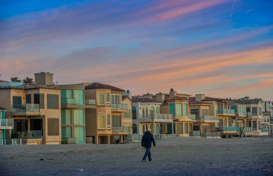 With beachfront views, the properties at Oxnard Shores are popular among visitors who stay at short-term rentals.