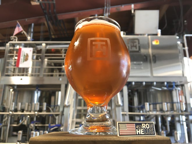 A beer honoring Ventura County Sheriff's Sgt. Ron Helus, a victim of the Borderline shooting, will be unveiled Nov. 11 at Tarantula Hill Brewing Co. in Thousand Oaks. The golden ale is named for Helus' radio call sign, 4-Sam-3.