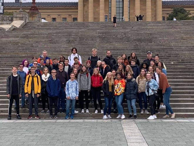 Twenty Millville High School students and their families have opened up their doors to students from Heidelberg, Germany, this month.  The German  students have attended classes and visited various places.