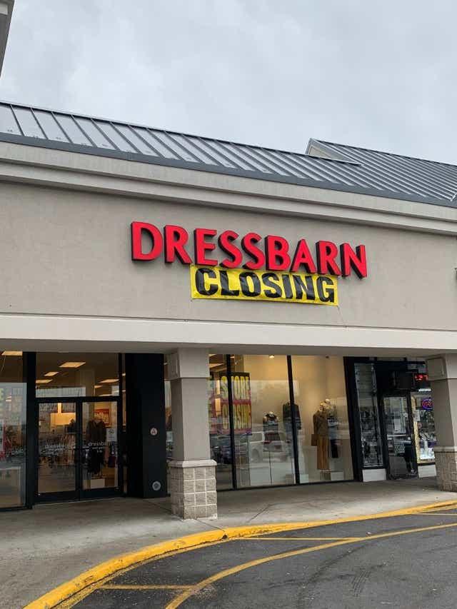 Dressbarn Liquidation Sales Began Nov 1 In All Hudson